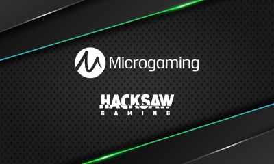 Hacksaw Gaming signs with Microgaming