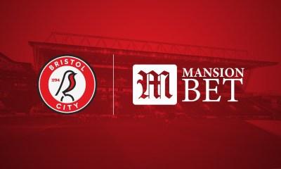 MansionBet Unveiled as Principal Sponsor of Bristol City