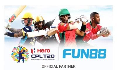 Fun88 Partners With Caribbean Premier League 2020