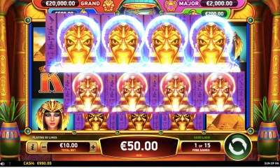 RubyPlay® launches new video slot Sun of Ra