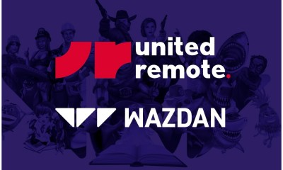 United Remote partnership with Wazdan