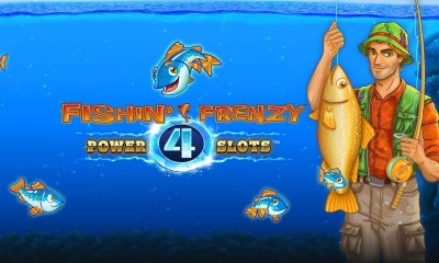 Blueprint Gaming widens the net for big wins with Fishin' Frenzy Power 4 Slots