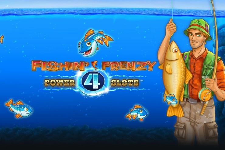 Blueprint Gaming memperlebar jaring untuk kemenangan besar dengan Fishin 'Frenzy Power 4 Slots