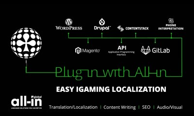Upgraded tech: Plug in with All-in for easy iGaming localization