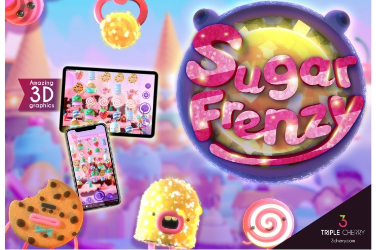 Explore a new world of fantasy and sweetness thanks to Sugar Frenzy