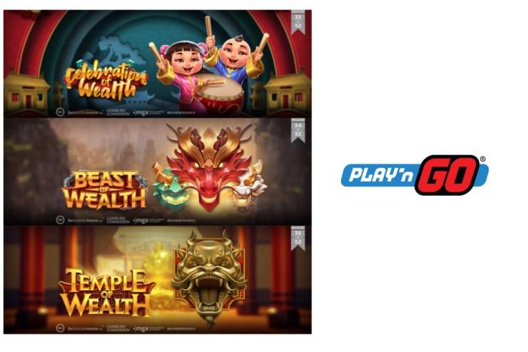 Play'n GO Bawa Kekayaan dengan Rilis Tiga Game