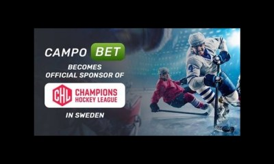 CampoBet becomes Official Sponsor of Champions Hockey League in Sweden