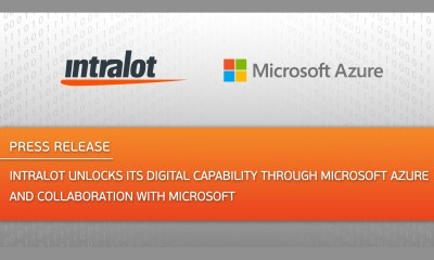 INTRALOT Unlocks its Digital Capability through Microsoft Azure and Collaboration with Microsoft