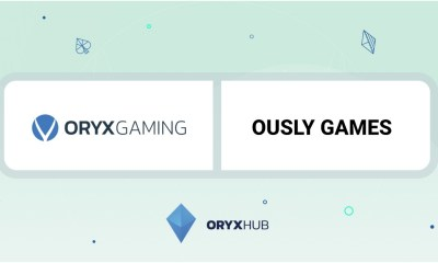 ORYX Gaming to add content to Ously Games' social casino SpinArena