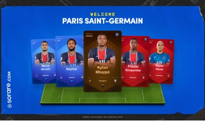 Fantasy football platform Sorare officially launches out of Beta in the UK as Paris-Saint Germain joins the platform