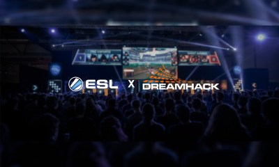 ESL and DreamHack Merge to Form ESL Gaming