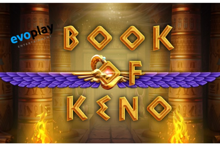 Evoplay Entertainment membuka makam firaun di Book of Keno