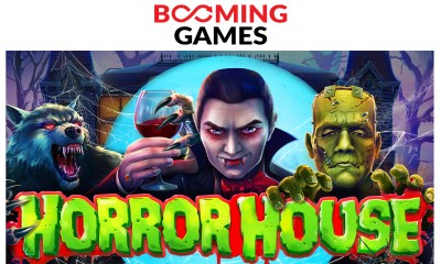Horror House released by Booming Games