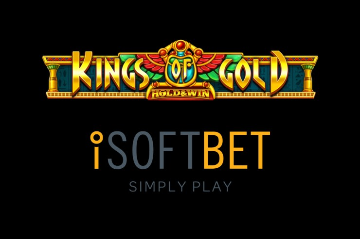 iSoftBet enters the land of the Pharaohs in Kings of Gold