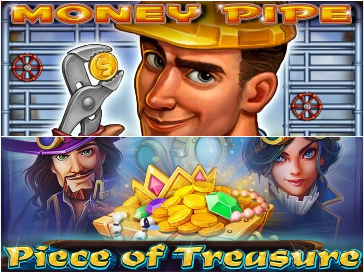 CT Gaming Interactive merilis slot Money Pipe dan Piece of Treasure