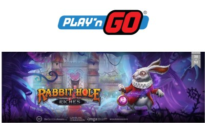 Play'n GO Take Players on an Adventure with Rabbit Hole Riches
