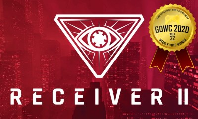 Receiver 2 Achieves Victory at the Game Development World Championship Lock & Load Weekly Vote!