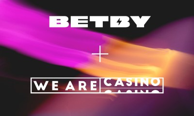 BETBY Products Live With WeAreCasino