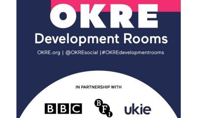 OKRE Launches 'Development Rooms' for Screen and Audio Entertainment Creatives in Partnership With BFI, BBC and UKIE