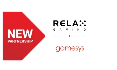 Relax Gaming launches with Gamesys Group plc in major UK deal