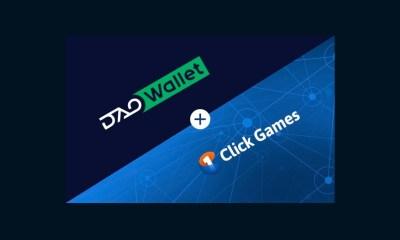 DAOWallet integrates into 1Click Games platform