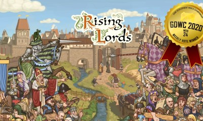 Rising Lords wins GDWC Strategy Game Vote!