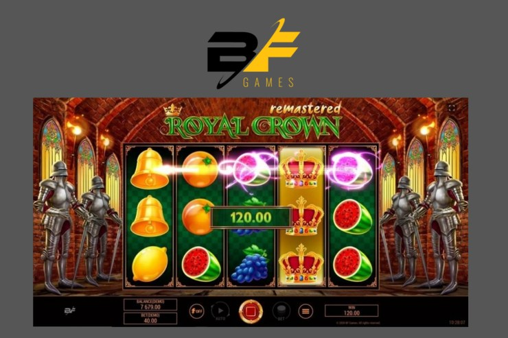 BF Games launches Royal Crown Remastered™