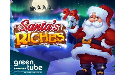 Santa's Riches™ brings Christmas' good tidings