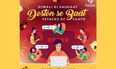 "9stacks launches ""Yeh Diwali Poker Wali"" Campaign Tapping Into their 'Voice Enabled Private Table' Feature"