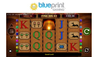 Blueprint Gaming's all-seeing Eye of Horus joins Jackpot King series