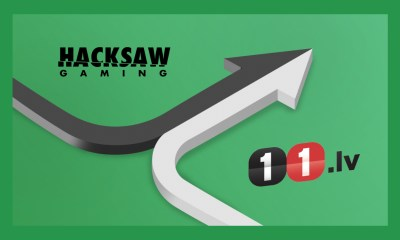 Hacksaw Gaming Partners with 11.LV
