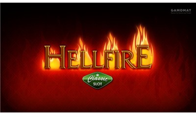 GAMOMAT sparks joy with Hellfire slot release