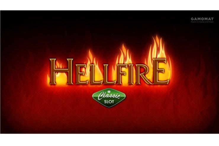 GAMOMAT sparks joy with Hellfire slot release