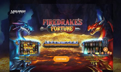 Kalamba Games unleashes Firedrake's Fortune