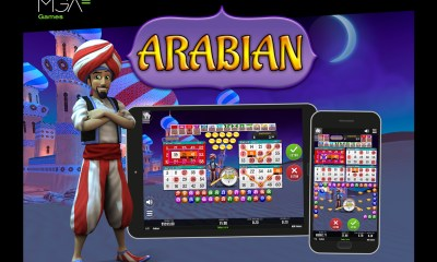 This Christmas MGA Games takes us on a magical journey with their new game Arabian Bingo