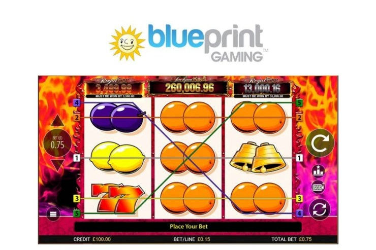 Blueprint makes flaming hot addition to Jackpot King with 7's Deluxe release