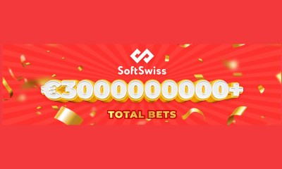 SoftSwiss exceeds the record of 3 billion euro of total bets in December 2020