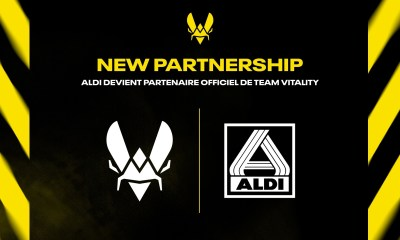 ALDI France becomes an official partner of Team Vitality