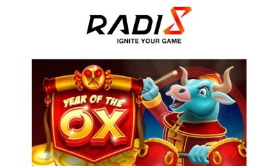 Year of the Ox, Radi8's first online slot game for 2021 made for Lunar New Year!