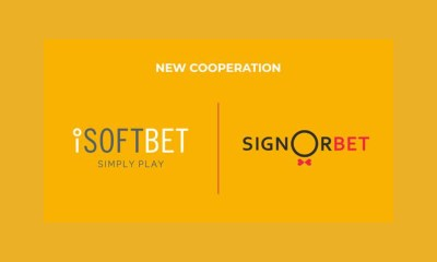 iSoftBet agrees SignorBet content deal