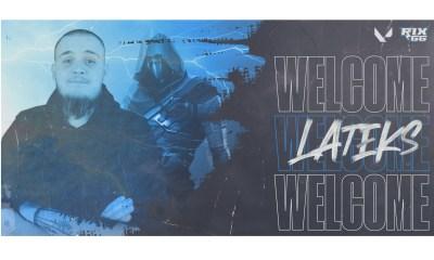 """Rix.GG signs Oliwer """"LATEKS"""" Fahlander for new VALORANT roster"""