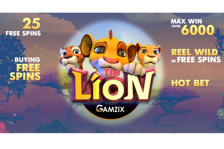 GAMZIX - The Lion - Rilis Game Baru