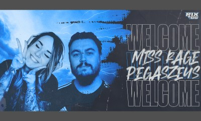Rix.GG welcomes MissRage and Pegsazeus as its first influential content creators!