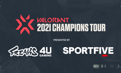 RIOT GAMES, FREAKS 4U GAMING and SPORTFIVE partner up to produce and commercialize the 2021 VALORANT CHAMPIONS TOUR