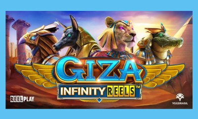 Yggdrasil and ReelPlay unearth a real gem in new GIZA Infinity Reels™ slot
