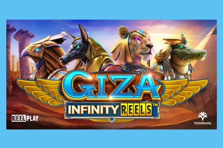 Yggdrasil dan ReelPlay menemukan permata asli di slot GIZA Infinity Reels ™ yang baru