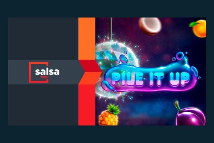 Teknologi Salsa merilis slot debut Pile it Up