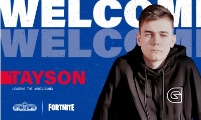 GUILD ESPORTS SIGNS 1# RANKED EU FORTNITE PLAYER - TAYSON