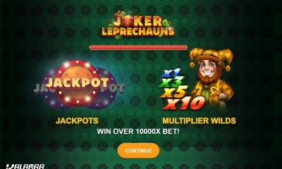 Kalamba Games' Joker Leprechauns promises pots of gold