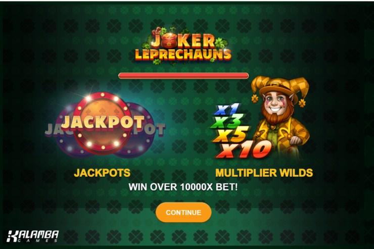 Joker Leprechaun dari Kalamba Games menjanjikan pot emas